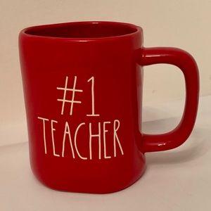 Rae Dunn #1 Teacher Mug
